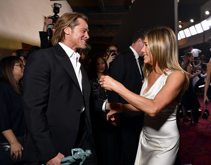 Brad Pitt and Jennifer Aniston are reunited at the 26th Annual Screen Actors GuildAwards
