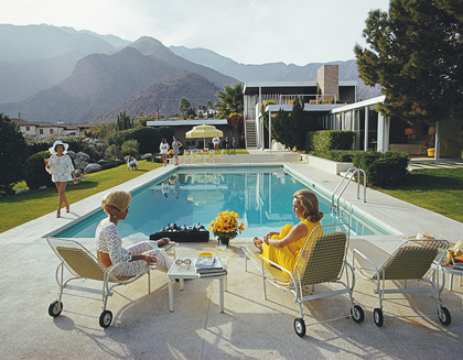 Poolside Gossip, ata desert house in Palm Springs