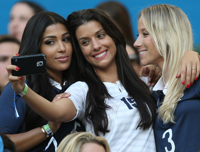 Off the pitch: WAGs, fans and celebrities