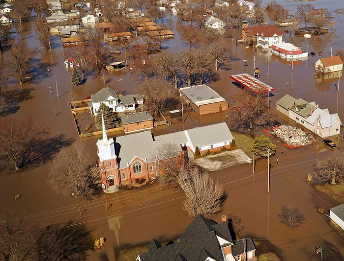 Flooding Devastates the Midwest