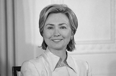 Democratic Candidate Hillary Clinton