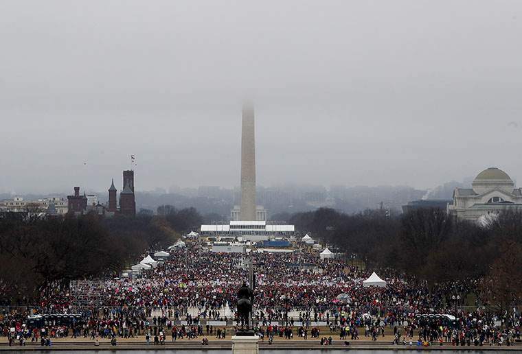 Massive Crowds for Women's March On Washington