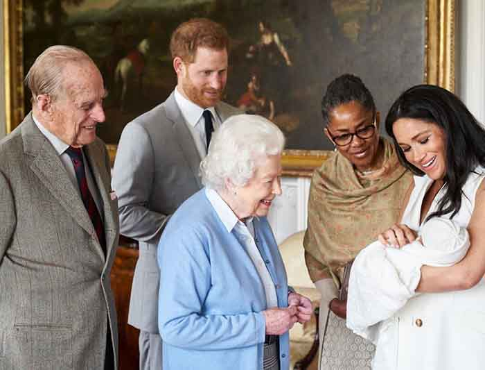 The Duke And Duchess Of Sussex Welcome A Boy
